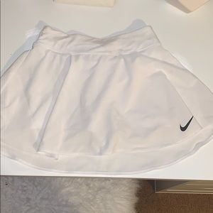 White Nike Golf Skort